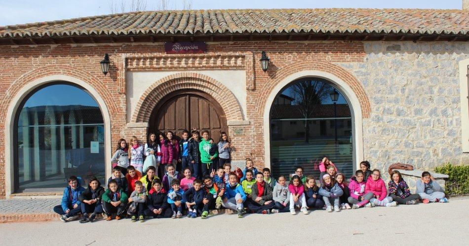 Participantes del C. Santa Ana y C.E.I.P. San Pedro Bautista (Ávila)