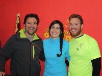 David, Maria y Kacho
