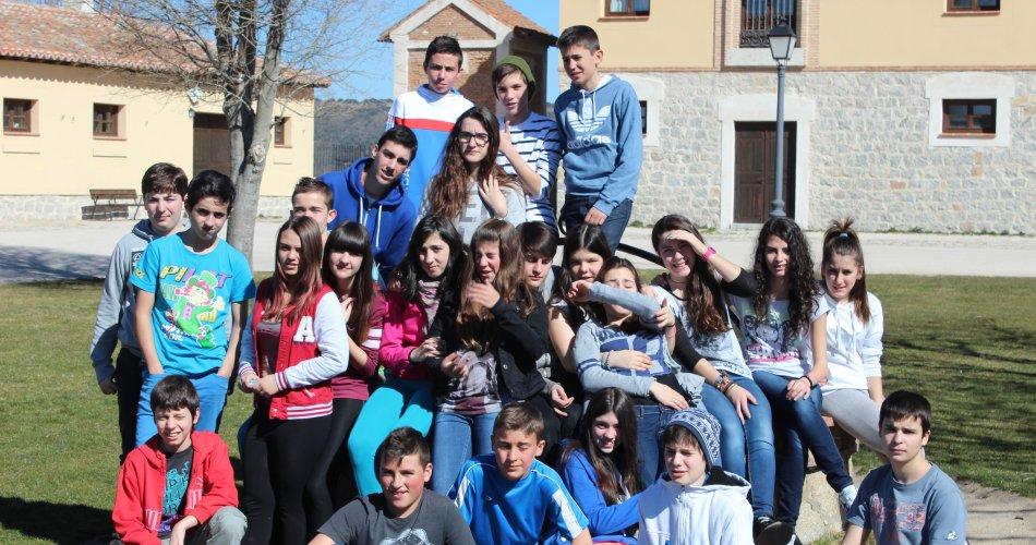 Participantes del I.E.S. Juana de Pimentel (Arenas de San Pedro)