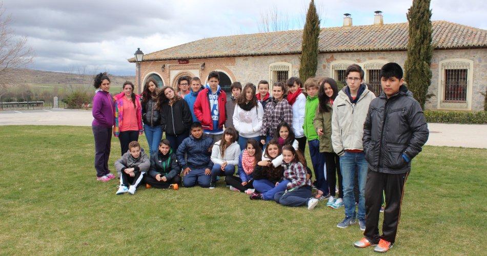 Participantes del I.E.S. Villa de Sotillo (Sotillo de la Adrada)