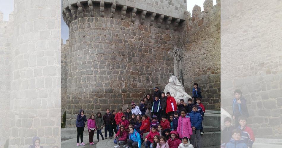 Participantes del C.R.A. Las Cogotas (Gotarrendura), C.R.A. La Serrezuela (San Miguel de Serrezuela y Santa María del Berrocal), C.P. Gran Duque de Alba (Piedrahíta) y C.P. La Moraña (Arévalo)