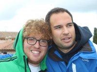 Pablo y Fernando (monitores)