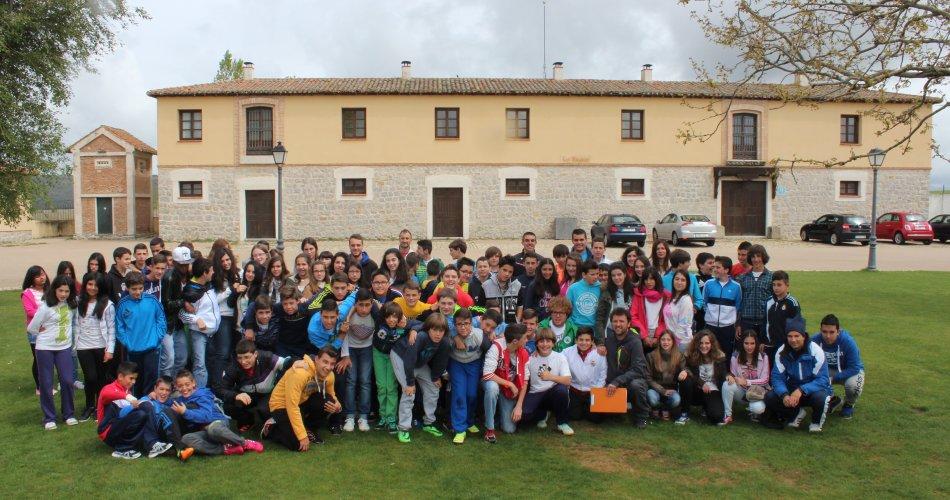 Participantes del C.E.O. Virgen de Navaserrada (El Hoyo de Pinares), C.C. Divina Pastora (Arenas de San Pedro) y C.C. San Juan Bosco (Arévalo)