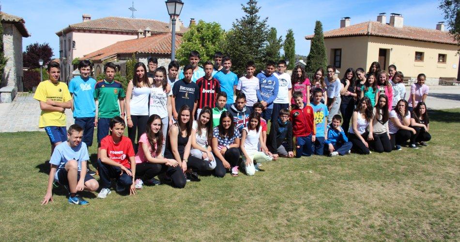 Participantes del I.E.S. Amor de Dios (Arévalo)
