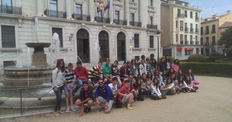 Participantes del I.E.S. Adaja de Arévalo (Ávila)