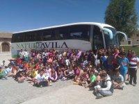 13ª Convivencia: C.C. Amor de Dios (Arévalo), C.C. Santisima Trinidad (El Tiemblo), C.R.A. Alto Alberche (Navatalgordo), C.R.A. Alto Gredos (Navarredonda de Gredos), C.R.A. Valdelavia (Herradon de Pinares), C.R.A. Alto Tietar (Navahondilla, Santa Maria del Tietar y Casillas) y C.R.A. Concepción Arenal (Casavieja)