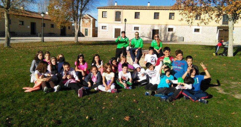 Participantes del Colegio Santa Ana