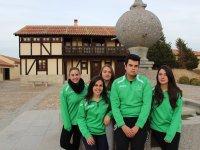 Iziar, Fredy, Raquel, Soraya y Andrea