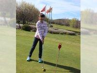 Golf, práctica de Putt