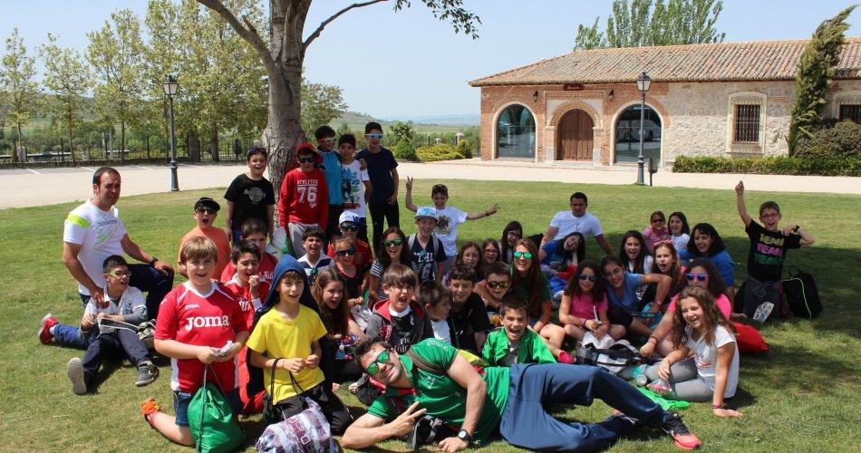 Participantes del C.P. Moreno Espinosa (Cebreros), C.R.A. Valle Ambles (La Colilla), C.R.A. Las Cogotas (Las Berlanas y Cardeñosa) y C.R.A. Arturo Duperier (Lanzahíta)