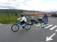 Educación Vial (práctica en bicicleta)