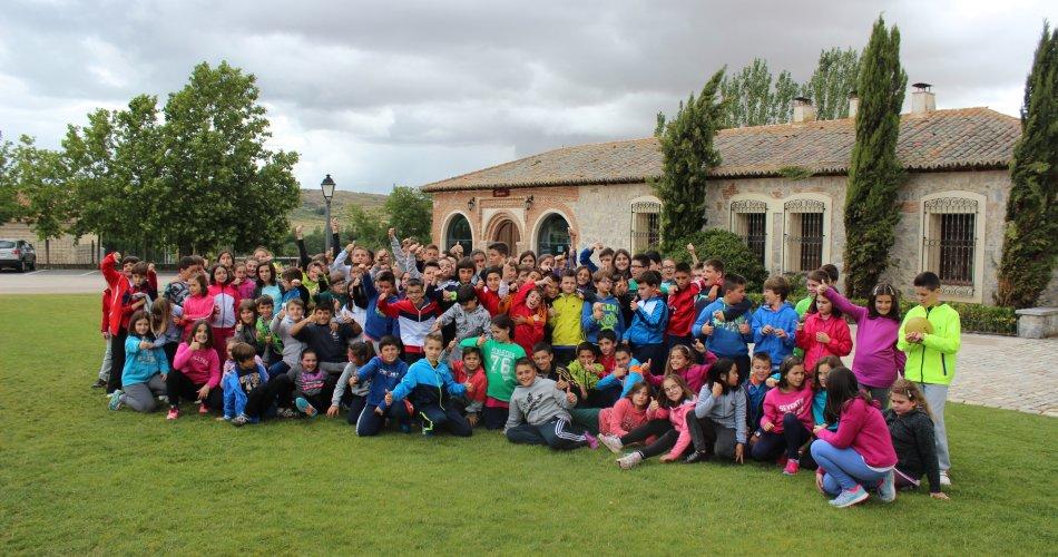 Participantes del C.E.I.P. AREVACOS y C.P. La Moraña de Arévalo