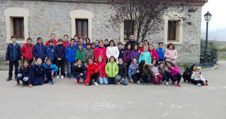 Participantes del C.E.I.P. Reina Fabiola y C.E.I.P. Santa Teresa (Ávila)