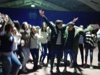 En la discoteca