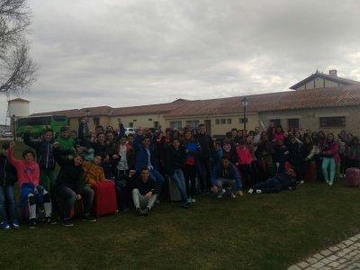 Participantes del I.E.S. Valle del Tietar (Arenas de San Pedro)
