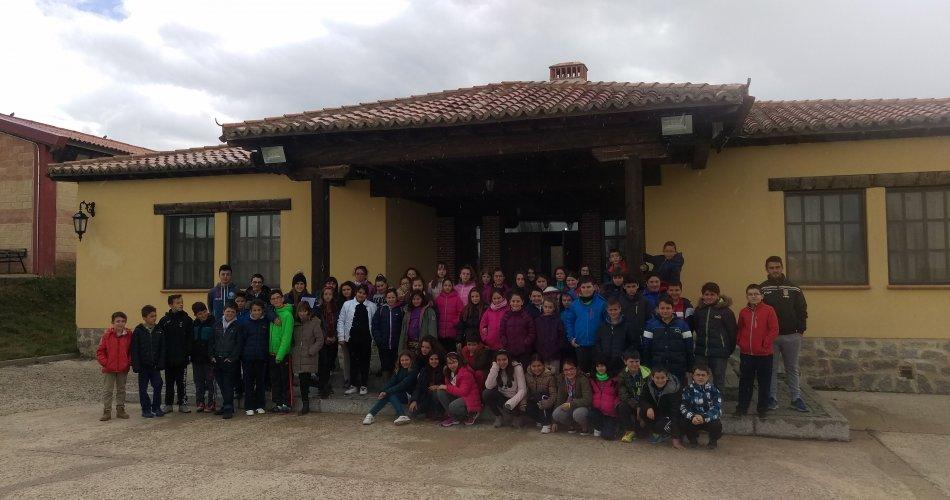 Participantes del C.R.A. Moraña Baja (Langa y Horcajo de Las Torres), C.R.A. La Gaznata (San Bartolomé de Pinares), C.E.O. Virgen de Navaserrada (El Hoyo de Pinares), C.R.A. Llanos de Moraña (Villaflor), C.R.A. Tomás Luís de Victoria (Blascosancho y Sancridrían) y C.E.I.P. Juan XXIII (Fontiveros)