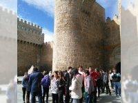 Visita a Ávila (Puerta del Alcazar)