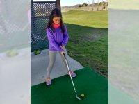 Iniciación al golf (tiro largo)