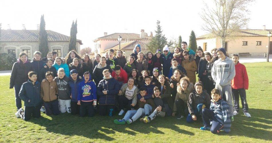 Participantes del C.C. Santísima Trinidad (El Tiemblo) y I.E.S.O. Eulogio F. Sanz (Arévalo)