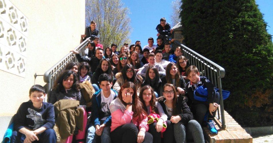Participantes del I.E.S. Sierra del Valle (La Adrada)