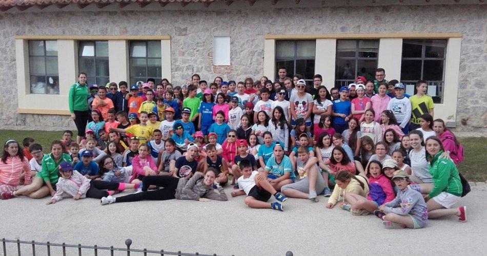 Participantes del C. Los Arevacos (Arévalo), C.E.I.P. La Moraña (Arévalo), C.R.A. Alto Tietar (Hoyos del Espino) y C. Concepción Arenal (Casavieja)