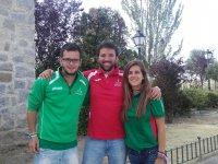 Carlos, David y Nerea