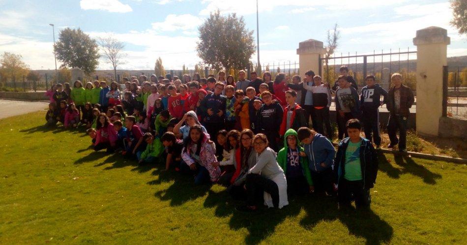 Participantes del C.E.I.P. Santo Tomás, C.E.I.P. Claudio Sánchez Albornoz, C.E.I.P. San Pedro Bautista y C.E.I.P. San Esteban (Ávila)
