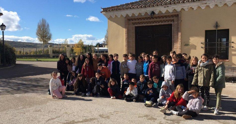 Participantes del CEIP Juan de Yepes (Ávila)