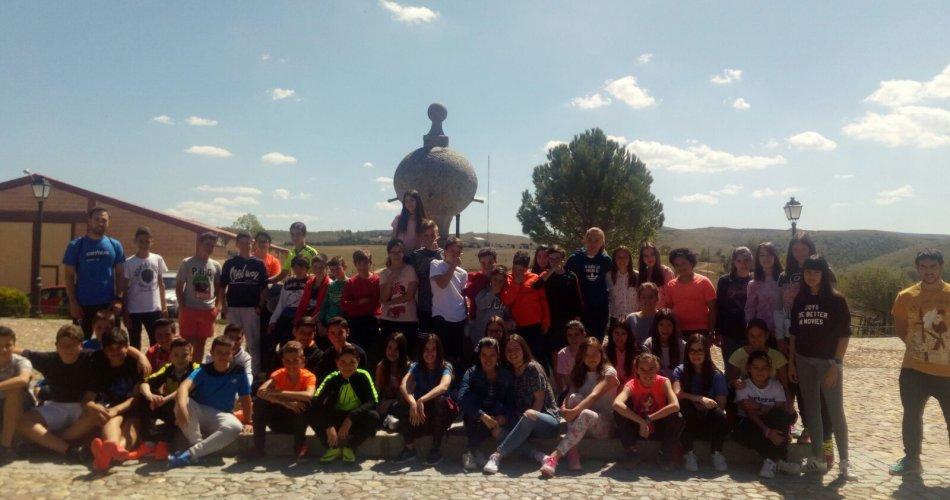 Participantes del C.C. Amor de Dios (Arévalo) y C.C. Divina Pastora (Arenas de San Pedro)