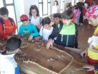 En el Centro de Recepción de Visitantes (Maquetas de Ávila)