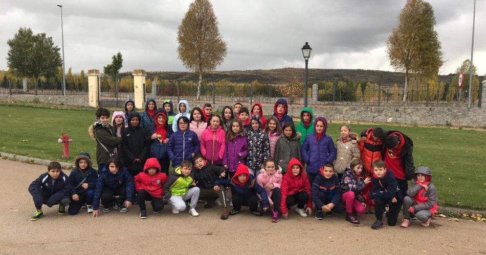 Participantes del CEIP Santo Tomás (Ávila)