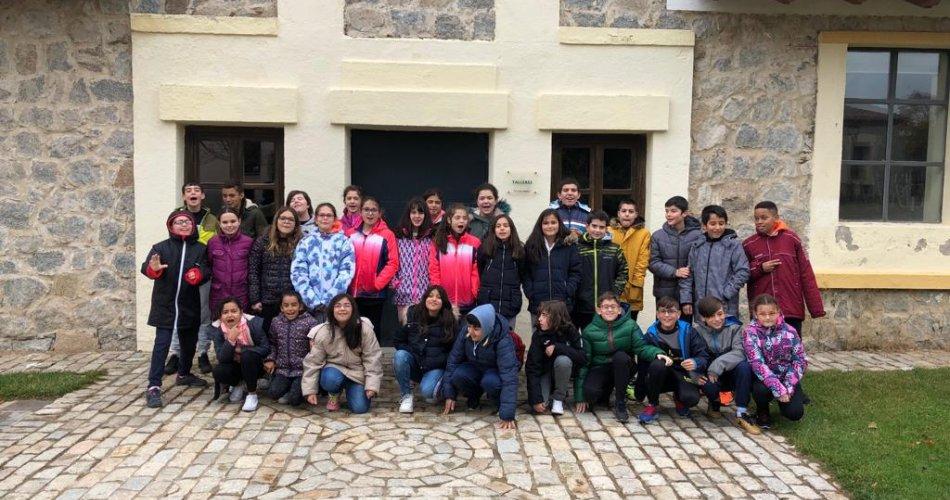 Participantes del CEIP Reina Fabiola de Bélgica y CEIP San Pedro Bautista (Ávila)