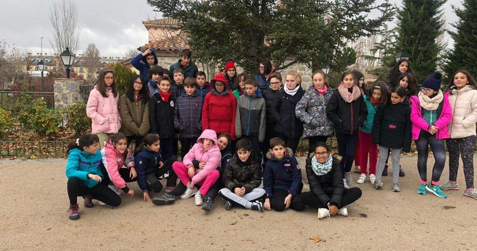 Participantes del CEIP Santa Teresa y CEIP San Esteban (Ávila)