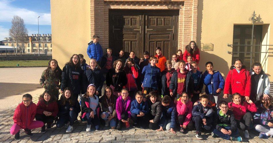 Participantes del CEIP Comuneros de Castilla y CC Santísimo Rosario – Mosen Rubi (Ávila)