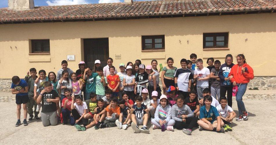 Participantes del C.C Santísima Trinidad (El Tiemblo) y C.R.A. La Sierra (Cillan)