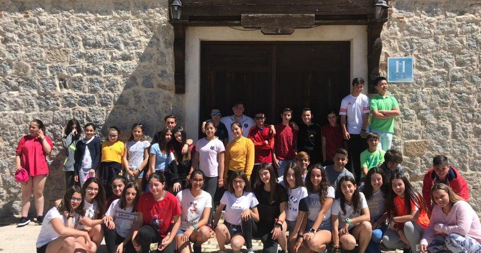 Participantes del C.C Santísima Trinidad (El Tiemblo) y C.C. San Juan Bosco (Arévalo)
