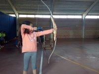 Práctica de tiro con arco