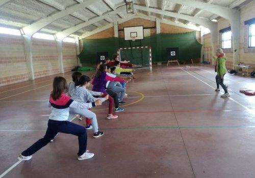 4ª del Tercer encuentro de juegos escolares 2018-19