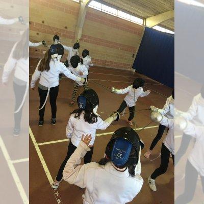 Actividad principal: Esgrima, el único deporte olímpico de origen español
